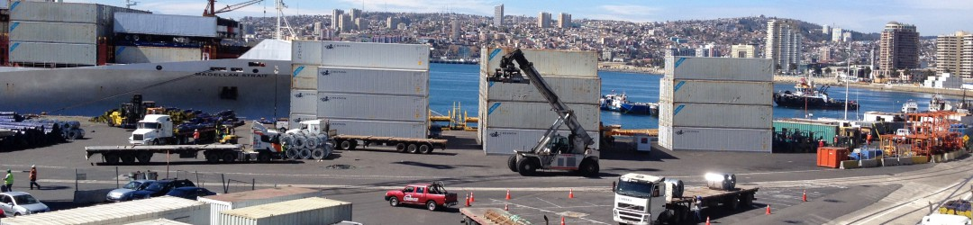 Importe und Investitionen in Chile, Peru und Kolumbien